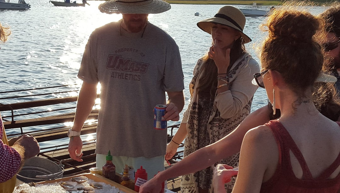 Oyster Farm Tour and Raw Bar